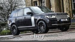 4 X Riviera 22 Range Rover Sport Vogue Découvrez Les Pneus Roues En Alliage Defener
