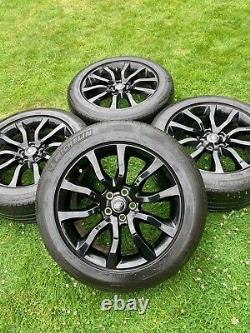 4 X Rover Rover Range Sport Vogue Discovery Défendeur Alloyage Quand Ils Tyres
