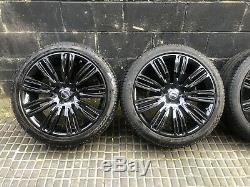 4x Range Rover Sport Vogue 9012 22inch Jantes En Alliage Et Pneus Inclus Tpms
