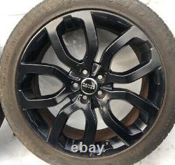 4x20 Genuine Range Rover Evoque Dynamique Lux L538 Allocution Black Wheel Set Bj32-ea