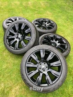 5 X 21 Genuine Range Rover Sport Vogue Discovery Alloy Wheels Pirelli Tyres