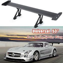 53 / 135cm Hatch Universel Réglable En Aluminium Gt Coffre Arrière Aile Racing Spoiler