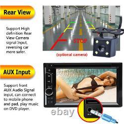 6.2 Dans Une Voiture En Ligne Stéréo Radio DVD LCD Lecteur Bt Double Din Fm/usb/sd + Caméra