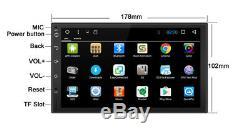 7 Android 7.1 Navigation Gps Universal Audio Player Stereo Radio 1 + 16g 1 Din