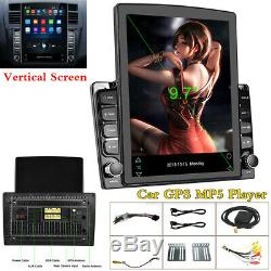 9.7in Écran Vertical Stéréo Bluetooth Voiture Lecteur Radio Gps Wifi 3g / 4g Obd Dab