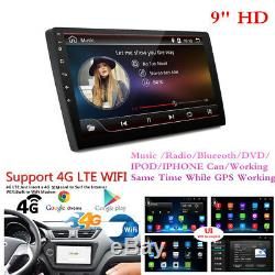9 Hd Android 7.1 Simple 1 Stereo Gps Din Voiture Radio Lecteur Wifi 3g / 4g Non DVD