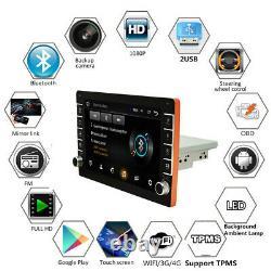 9in Din Din Android 8.1 Carte Stéréo De Voiture Radio Sat Nav Wifi Usb Fm Player