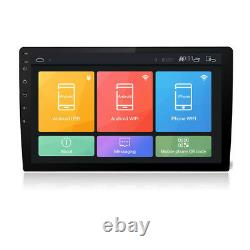 9inch Android 7.1 Double Din Voiture Stereo Player Gps Sat Nav Obd Wifi Radio 1g+16g