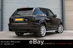 Aérokit P1 Bodykit Pare-chocs Becquet Arrière Pour Range Rover Sport 2005 À 2009