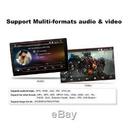 Android 8.1 10.1 Double Din Quad-core Car Stereo Radio Mp5 Gps Bluetooth