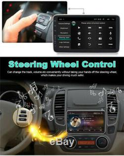 Android 8.1 10.1 Rotatif Double Din Car Stereo Bluetooth Wifi Mp5 Gps