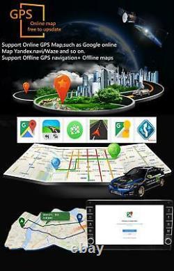 Android 8.1 8in 1din Quad-core 1 + 16 Go Car Radio Fm Stéréo Mp5 Gps Sat Nav