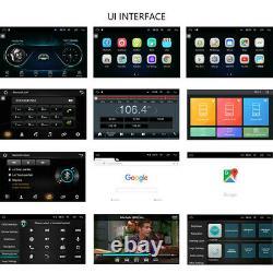 Android Car Radio 9'' Écran Tactile Autoradio Bluetooth Fm Wifi Lecteur Gps Stéréo