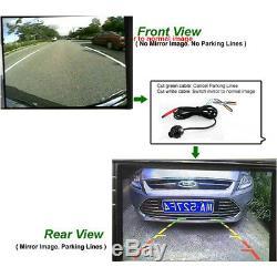 Autos Parking Vue Panoramique Round Tout Voiture 4-way Caméra Rearview Moniteur Système