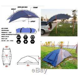 Auvent De Tente Simple Auvent De Tente De Toit De Tente D'auvent De Soleil De Tente De Tente
