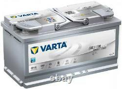 Batterie De Voiture Varta G14 Agm 12v Silver Dynamic 4 Ans Type De Garantie 019