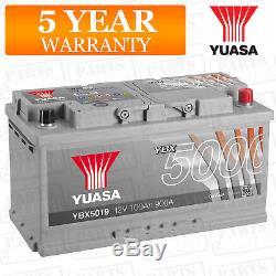 Batterie Voiture Ybx5019 Calcium Silver Case Smf Soci 12v 900cca 100ah T1 De Yuasa