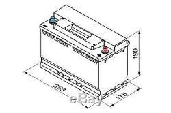 Batterie Voiture Ybx9019 Agm Start Stop Plus 12v 95ah 850cca T1 Terminal Par Yuasa