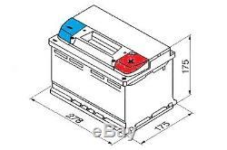 Batterie Voiture Ybx9096 Agm Start Stop Plus 12v 70ah 760cca T1 Terminal Par Yuasa