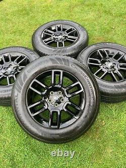 Black 4 X 2021 Défenseur De La Terre De Genuine 19 Animaux Alloyés Avec Conti Tyres