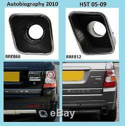 Black Hst Pointes D'échappement Range Rover Sport Diesel Suralimentées