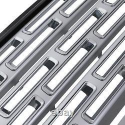 Black Silver Sva Look Side De La Grille De La Grille Avant Pour La Gamme Rover Sport L320 05-09