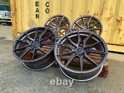 Bmw 20''inch Alloy Wheels 3/4/5/6 Série Bmw F30 F32 M Sport Vw T5 T6 Nouveau Four