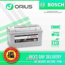 Bosch S5 Voiture Batterie 12v 100ah 830cca S5013 Type 019