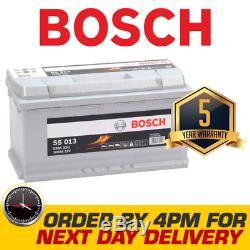Bosch Type 019 Voiture Van Batterie Garantie De 5 Ans S5013 5 Ans Wty Next Day Del