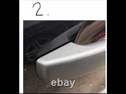 Brushed Chrome Abs Poignée De Porte Couvertures, Convient Land Rover 3/4, Freelander 2, Rr Sport