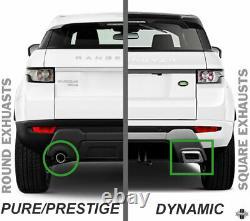 Bumper Arrière Dynamique Pour La Conversion Range Rover Evoque Pure/ Prestige Upgrade