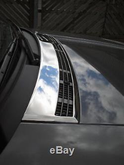 Cache-capot En Chrome, Couvercle D'admission D'air Pour Range Rover L322 Autobiography Hse New