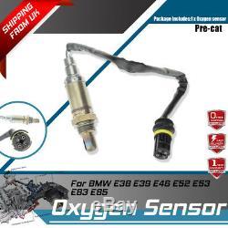 Capteur D'oxygène Lambda O2 Pour Bmw E38 E39 E46 E52 E53 E83 E85 Pré-cat