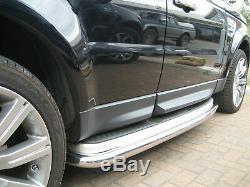 Chrome Bars Secondaires Pour Range Rover Sport Tdv8 Étapes Tubes 2005-2011 Hse Tvh