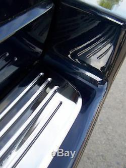 Chrome En Acier Inoxydable Garniture De Pare-chocs Arrière Pour Pas Range Rover L322 Vogue Gcat Nouveau