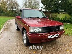 Classic Range Rover 1 De 100 Construit Seulement 2 Propriétaires De Nouveaux