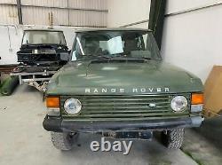 Classique De Porte Range Rover 2 De La Fin Des Années 80