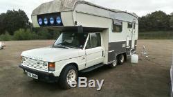 Conversion Du Camping-car 6x4 À 2 Portes Land Rover Range Rover Classic