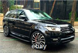 Convient Land Rover - Range Rover Sport 22'' Pouce Turbine Style Nouvelles Roues En Alliage