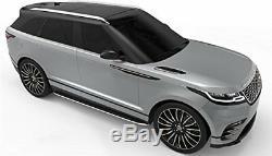 De Nouveaux Marchepieds Latéraux En Aluminium Marchepieds Terre Range Rover Velar F Pace Oe Style