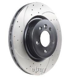 Disques De Braces Groovées De 360 MM Pour Le Sport Range Rover 3.0 Td V6 4,4 5,0