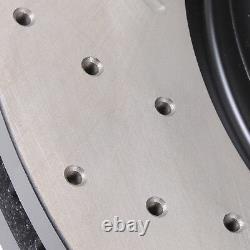 Disques De Front Drilled Grooved 330mm Pour Série 3 Bmw F30 325d 328i 330d 335i