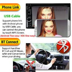 Double 2 Din Hd 6.2 Touch Car Lecteur DVD Miroir Pour Gps Stereo Radio + Caméra