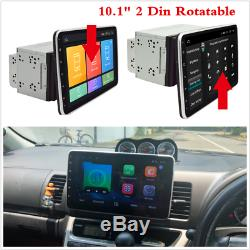 Double Din Android 8.1 10.1 '' Car Stereo Radio Mp5 Gps Wifi 3g 4g Bt Dab