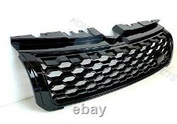 Dynamic Gloss Black Front Grille 2016+ Facelift Adapte Range Rover Evoque 2011-18
