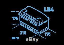 Eb802 Garantie 3 Ans Exide Batterie 80ah 700cca W110se Type 110