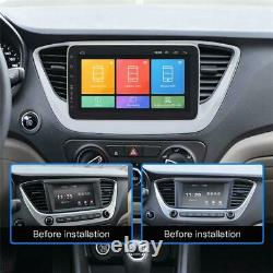 Écran Tactile 10.1 Simple Din 4-core Rotatable Android 8.1 Voiture Gps Wifi Dab Obd