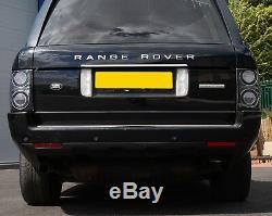 Feu Arrière Noir L322 2012 À Led Fumées Pour Autobiographie Du Range Rover 2010