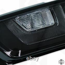 Feux Arrière Led Noirs Pour Range Rover Evoque Fumé Teinté Arrière Feux Arrière Lentille