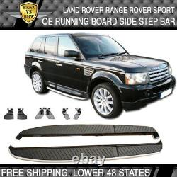 Fit 06-13 Land Rover Range Rover Sport Running Board Side Step Bar Factory Style